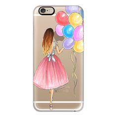 iPhone 6 Plus/6/5/5s/5c Case - Birthday Balloons! ($40) ❤ liked on Polyvore featuring accessories, tech accessories, phone cases, phones, tech, case, iphone case, iphone cover case, slim iphone case and apple iphone cases