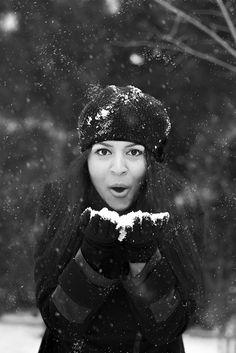 #winter #kış #kar #snow #wb #woman #fotoğrafçılık #photograpy