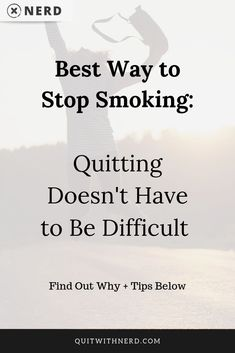Many smokers think that quitting has to hard because they do not know their enemy. But once we know this enemy and his tactics, stopping is easy. Read on. Stop Smoking Benefits, Quit Smoking Methods, Benefits Of Quitting Smoking, Reasons To Quit Smoking, Help Quit Smoking, Giving Up Smoking, Sleep Meditation For Kids, Cigarette Addiction