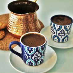 Tyrkisk kaffe opskrift - Dansk i Tyrkiet