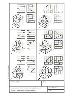 Isometric Drawing Exercises, Movement Architecture, Orthographic Drawing, Architecture Drawing Sketchbooks, Certificate Design Template, Interesting Drawings, Geometric Drawing, Perspective Drawing, Cad Drawing