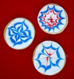 These firework cookies look so fun to make - the kids would love it!
