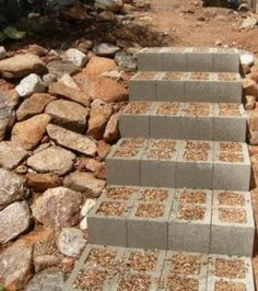 She Collected Ordinary Cinder Blocks, Made Something Brilliant For The Whole Family
