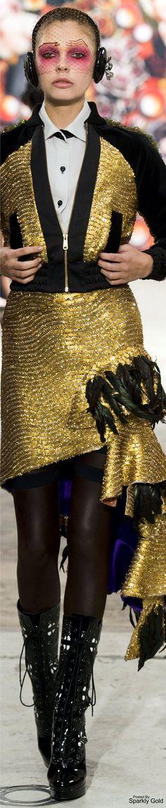 Antonio Ortega Fall 2016 Couture @michaelOXOXO @JonXOXOXO @emmaruthXOXO  #BLACK&GOLD
