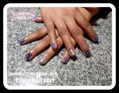 Uñas esmaltado semipermanente nail art