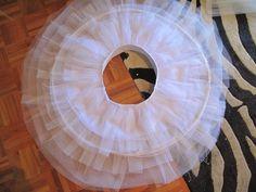 Si Coppelia vistiera de Prada: Tutorial para hacer un tutú de ballet de plato c… – collants et dessous