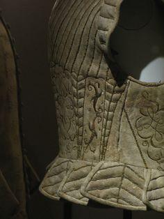 Men's leather doublet, Museo Stibbert, Firenze