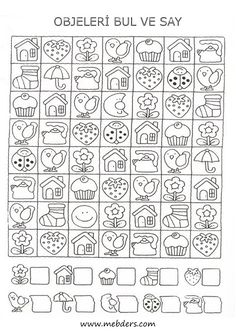 Kids Math Worksheets, Writing Worksheets, Preschool Writing, Kindergarten Math, Math Games, Preschool Activities, Art Books For Kids, Hidden Pictures, Math For Kids
