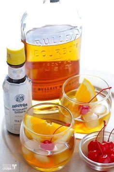 Old fashioned: cóctel a base de whiskey rye o bourbon