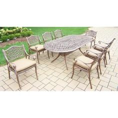 shopping online hillsford 9 piece dining set by beachcrest home