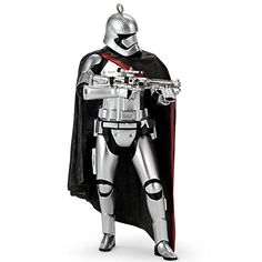 Hallmark Star Wars The Force Awakens Captain Phasma Stormtrooper Ornament *** Check out this great product.