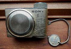 Vintage SONY TR 8 Micro Transistor Radio