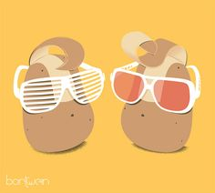 Cool Potatoes by bortwein75, via Flickr