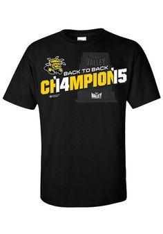 Wichita State Shockers 2015 MVC Champions Short Sleeve Tee http://www.rallyhouse.com/shop/wichita-state-shockers-mens-short-sleeve-tshirt-black-8090368?utm_source=pinterest&utm_medium=social&utm_campaign=Pinterest-WSUShockers $19.99