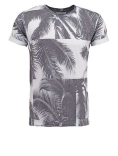 Burton Menswear London Tshirt z nadrukiem white