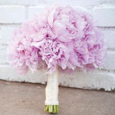 lavender peony bouquet