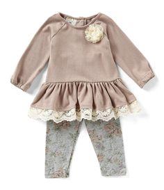 a11213c14 Marmellata Baby Girls 12-24 Months Drop-Waist Dress & Printed Capri Legging  Set | Dillards