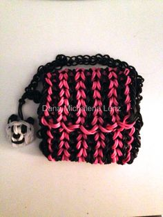 Rainbow Loom Panda Purse!!!