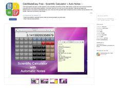 Una calculadora para Mac, la mar de completa y gratis: https://itunes.apple.com/es/app/calcmadeeasy-free-scientific/id417404127?mt=12