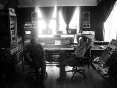 Jago Thorne + Tony Garnier   #recording #studio
