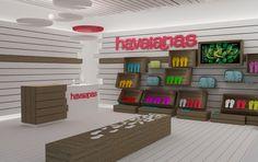 Havaianas shoe store by Stone Designs, 2010 #havaianas #StoneDesigns