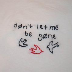 Twenty One Pilots Goner Embroidered T-shirt by MerchByMattie