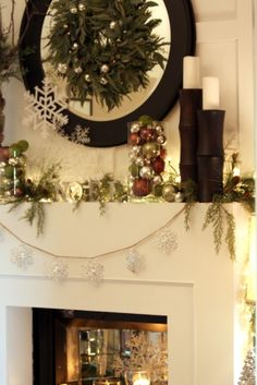 A nice way to spruce up your home at Christmas time and make it more festive.