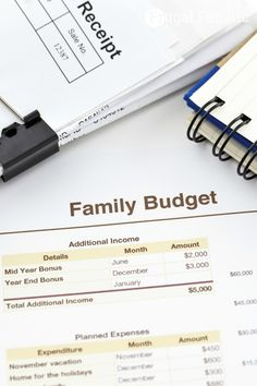 family budget ideas