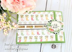 Simon Says Stamp March, 2018, card kit with Carta Bella papers