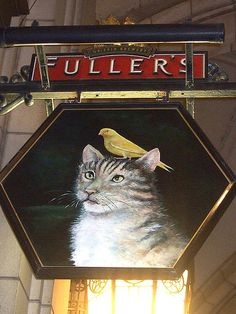 The Cat and Canary - Pub Sign