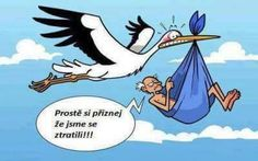 This must be my stork! A little humor Funny Cartoons, Funny Comics, Funny Jokes, Hilarious, Funny Cartoon Pictures, Humor Grafico, Funny Pins, Funny Stuff, Really Funny