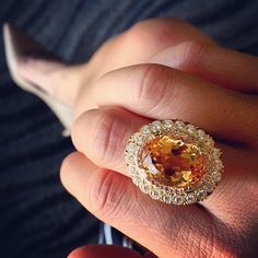 Erica Courtney Imperial Topaz Ring! #DropDeadGorgeous