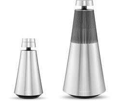 Wireless aluminium speaker BEOSOUND 1 By Bang & Olufsen design David Lewis Designers, Torsten Valeur Audio Design, Speaker Design, Sound Design, Wireless Speaker System, Bluetooth Speakers, Love Sound, Id Design, Cube Design, Bang And Olufsen