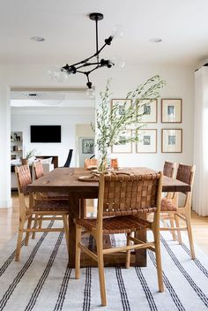 Dining Room Design, Modern Dining Room, Leather Dining, Dining Chairs, Dining Room Cozy, Farmhouse Dining Room, Dining Room Small, Dining Room Furniture, Small Dining