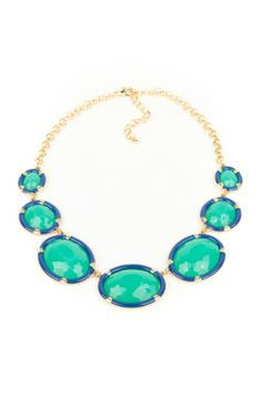 Oval Statement Necklaces