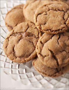 Molasses Ginger Cookies