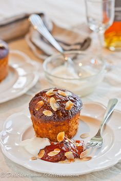 Roasted Apricot, Vanilla & Quinoa Cakes @delicieux