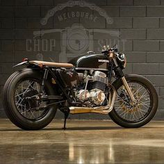 Neat! Honda CB750 by Melbourne Chop Shop