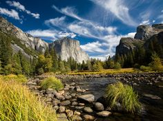 Picture of El Capital and Merced River, Yosemite National Park