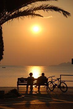 30 sitios donde #encontrar #pareja - puesta de sol