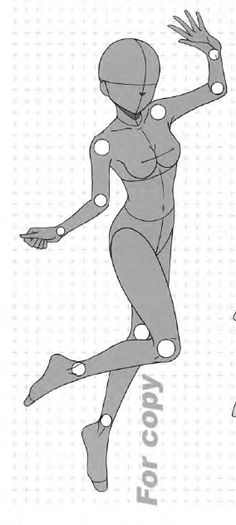 キャラクターをつくろう! 少女イラスト見本帖,制服コレクション編 Manga Basic Pose 19