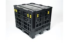 Buy Collapsible Plastic Pallet Boxes & Containers Online - Storage Construction