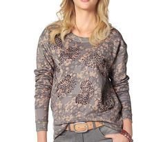 Tamaris Damen Sweatshirt grau rosa Neu Gr.34/XS in Kleidung & Accessoires, Damenmode, Pullover & Strick   eBay!