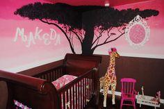 acacia tree nursery painting