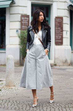 How to Wear the Culottes Fashion Trend | StyleCaster