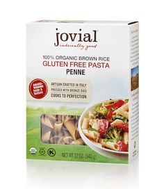 Shop online for Organic Gluten Free Brown Rice Penne Rigate and other products at Jovial Foods today! Gluten Free Lasagna, Gluten Free Pasta, Fodmap Diet, Low Fodmap, Brown Rice Pasta, Organic Brown Rice, Penne Pasta, Keto Recipes