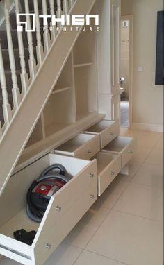 Thiết kế tủ gầm cầu thang