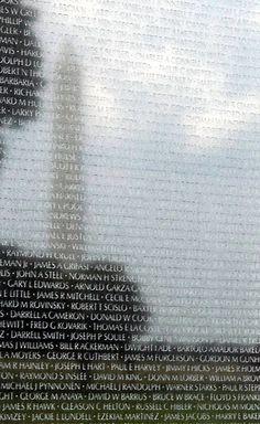 Vietnam Memorial in Washington, D.C