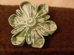 Brooch for Liz's clutch