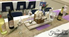 DIY Rustic Wedding Centerpiece Trivets and Boxes